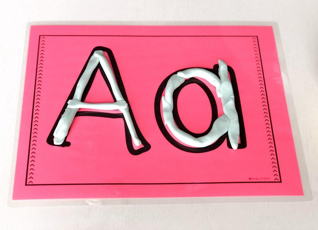 alphabet letter mat