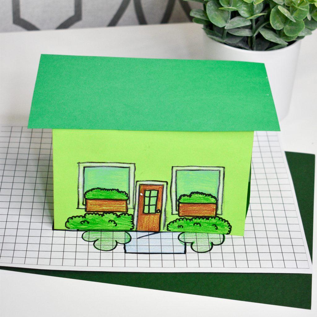 leprechaun house for elementary