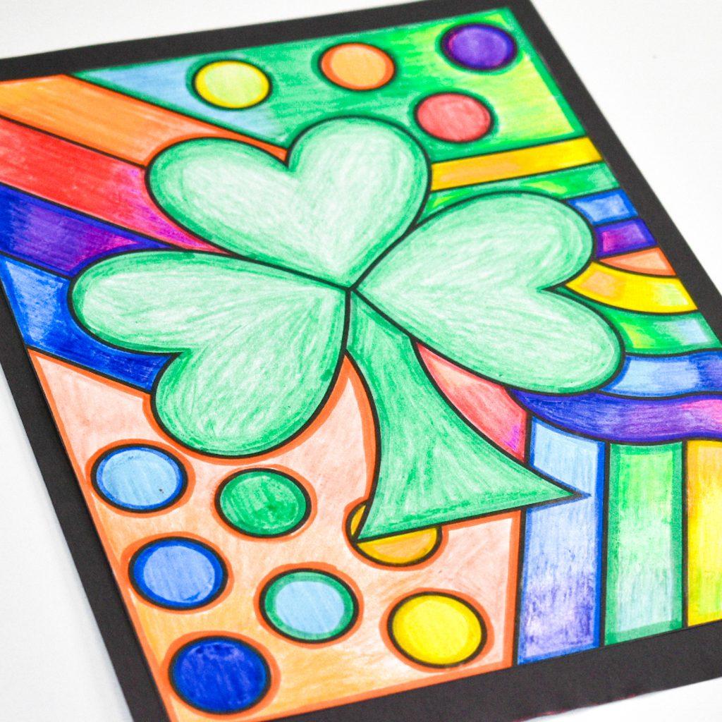 St. Patrick's Day art