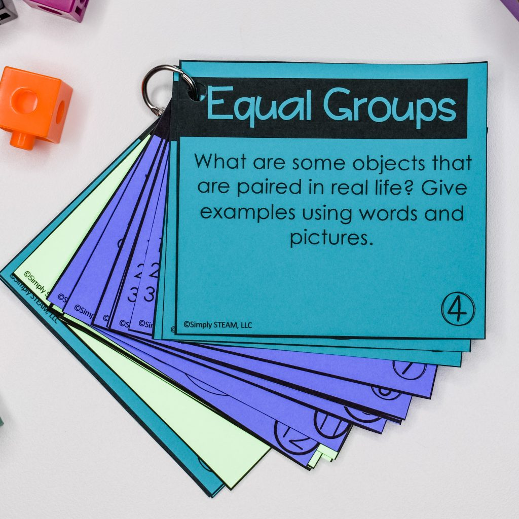 best practices for teaching mathematics writing about math equal groups writing