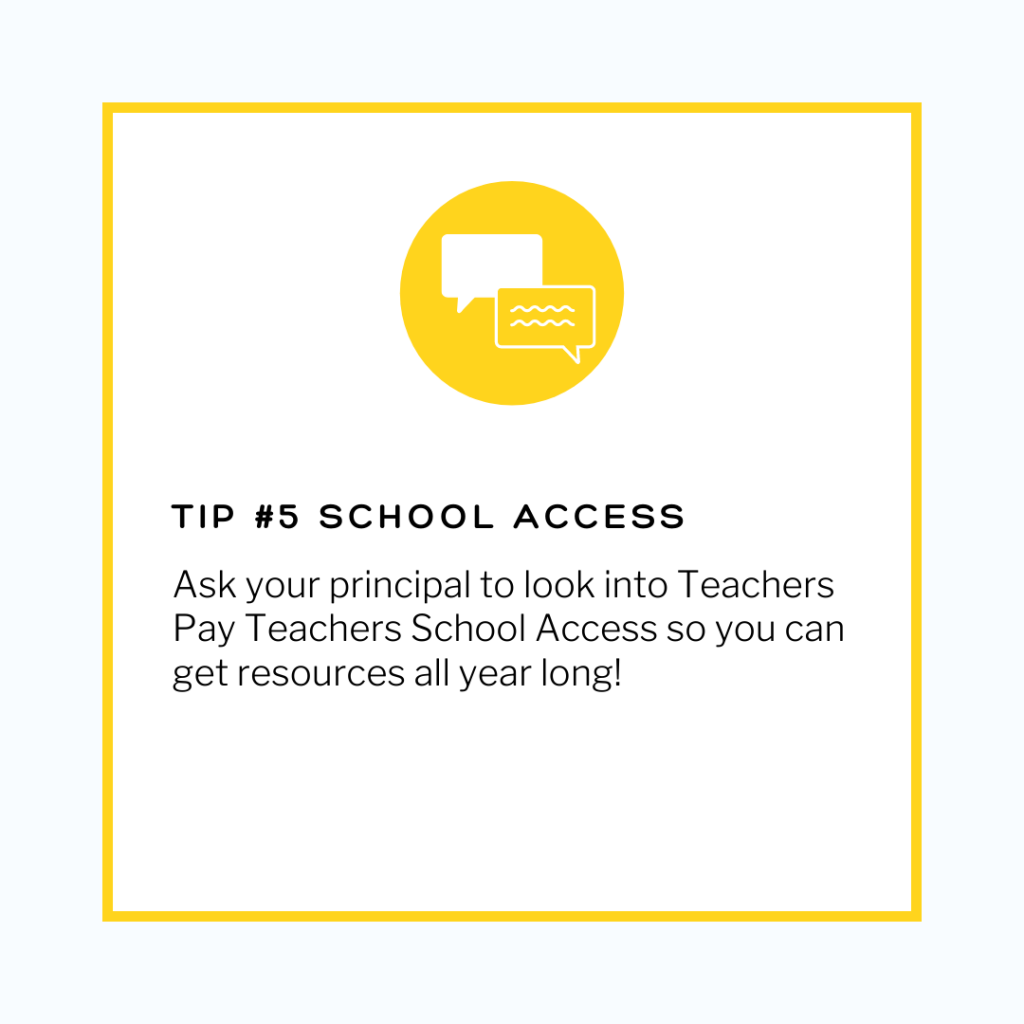 TpT School Access