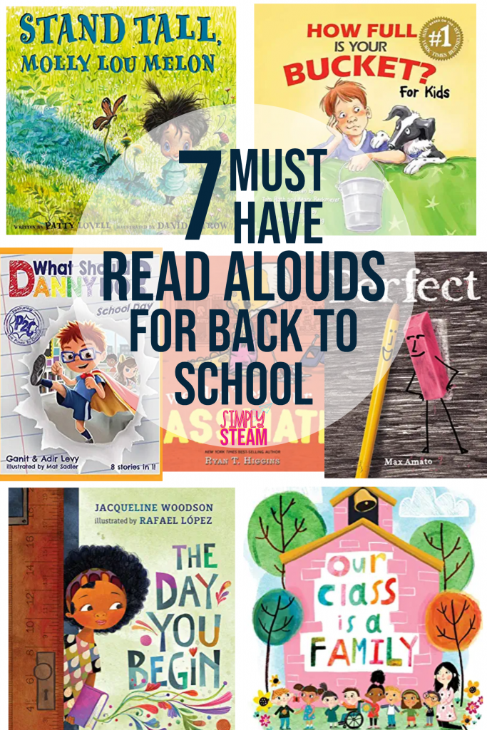 7 must have read alouds for back to school